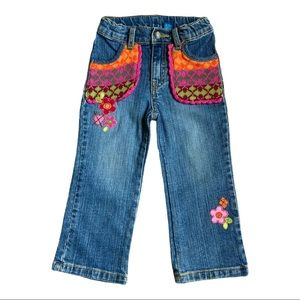 The Children's Place knit pocket bootcut jeans